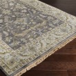 Product Image of Charcoal, Sky Blue, Dark Brown, Cream Traditional / Oriental Area Rug