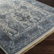 Product Image of Ivory, Navy, Charcoal, Black, Light Gray Traditional / Oriental Area Rug