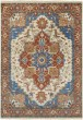 Product Image of Camel, Burnt Orange, Sky Blue Traditional / Oriental Area Rug