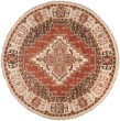 Product Image of Rust, Butter, Mauve, Navy, Olive, Coral Traditional / Oriental Area Rug