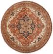 Product Image of Rust, Violet, Khaki, Rose, Bright Purple Traditional / Oriental Area Rug