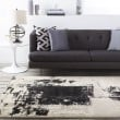 Product Image of Black, Light Gray, Off White Contemporary / Modern Area Rug