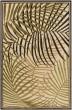 Product Image of Outdoor / Indoor Dark Brown, Camel, Khaki (PRT-1063) Area Rug