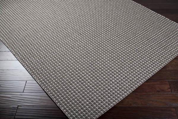 Dark Gray, Light Gray Outdoor / Indoor Area Rug