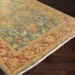 Product Image of Teal, Rust, Gold, Lime Traditional / Oriental Area Rug