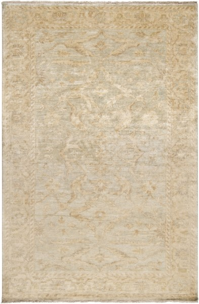Wheat, Seafoam, Taupe Vintage / Overdyed Area Rug