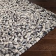 Product Image of Charcoal, Taupe, Cream, Black Contemporary / Modern Area Rug