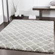 Product Image of Taupe, Light Gray, White Shag Area Rug