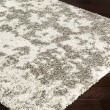 Product Image of Dark Brown, Light Gray, Khaki Shag Area Rug