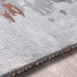 Product Image of Denim, Dark Brown, Light Gray, Navy Contemporary / Modern Area Rug