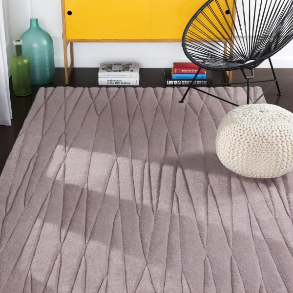 Lavender (ETC-4998) Geometric Area Rug