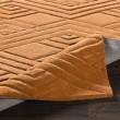 Product Image of Burtn Orange (ETC-5002) Geometric Area Rug