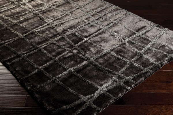 Pewter, Dove Gray Contemporary / Modern Area Rug