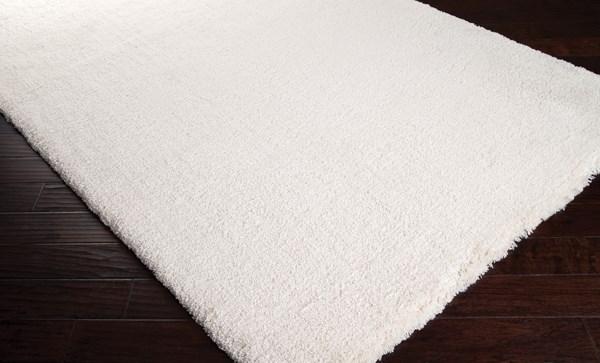 White (HEA-8000) Shag Area Rug