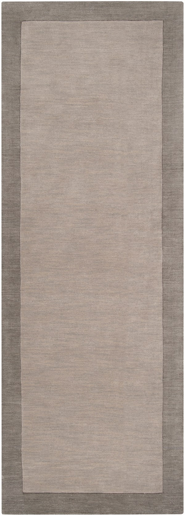 Pewter, Flint Gray Casual Area Rug