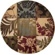 Product Image of Sienna, Tea Leaves, Coffee Bean Floral / Botanical Area Rug