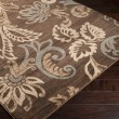Product Image of Jet Black, Coffee Bean, Camel Floral / Botanical Area Rug