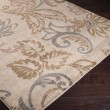 Product Image of Camel, Mossy Stone, Tea Leaves Floral / Botanical Area Rug
