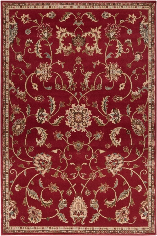 Sienna, Camel, Mossy Stone Traditional / Oriental Area Rug