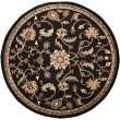 Product Image of Jet Black, Camel, Sienna Traditional / Oriental Area Rug