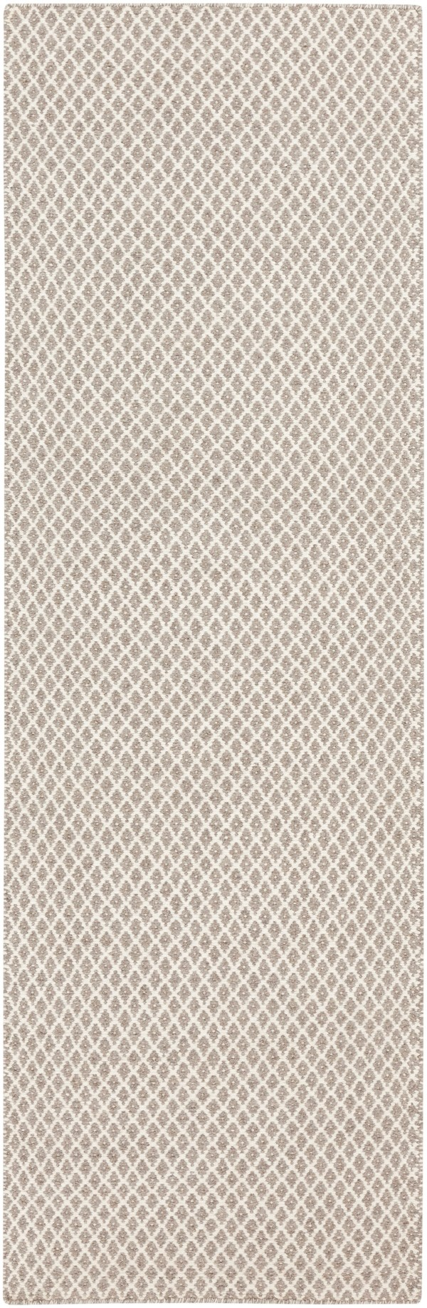 Taupe, Ivory Casual Area Rug