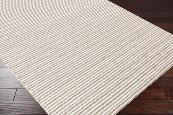 Camel, Ivory Casual Area Rug