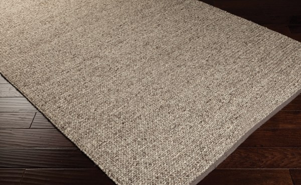 Brown Sugar, Winter White (TCA-201) Casual Area Rug