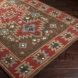 Product Image of Coffee Bean, Burnt Sienna, Sea Blue Southwestern / Lodge Area Rug