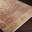 Product Image of Rust, Tan, Olive, Khaki, Black Traditional / Oriental Area Rug