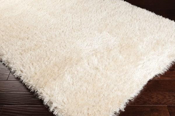 Cream Solid Area Rug