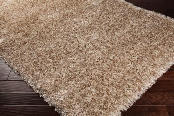 Beige, Wheat, Cream Solid Area Rug