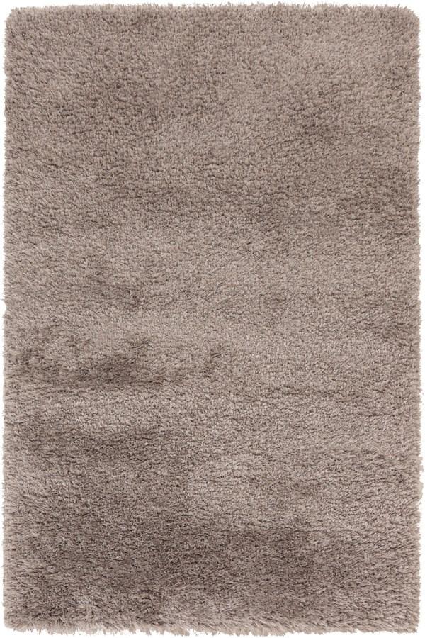Taupe Shag Area Rug
