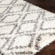 Product Image of Cream, Grey, Charcoal, Dark Brown (RHA-1036) Shag Area Rug