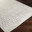 Product Image of Light Gray Textured Solid Area Rug