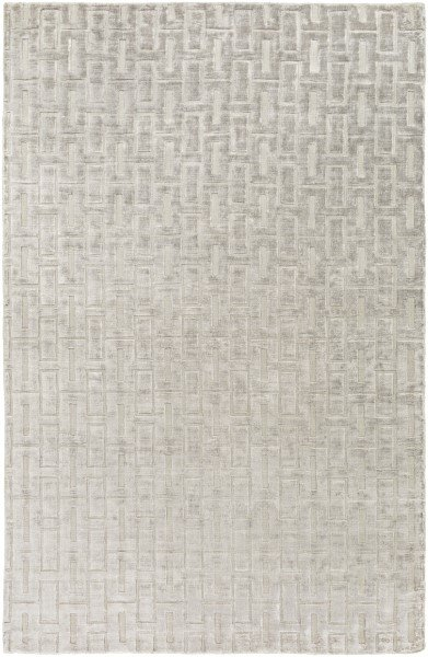 Light Gray Solid Area Rug