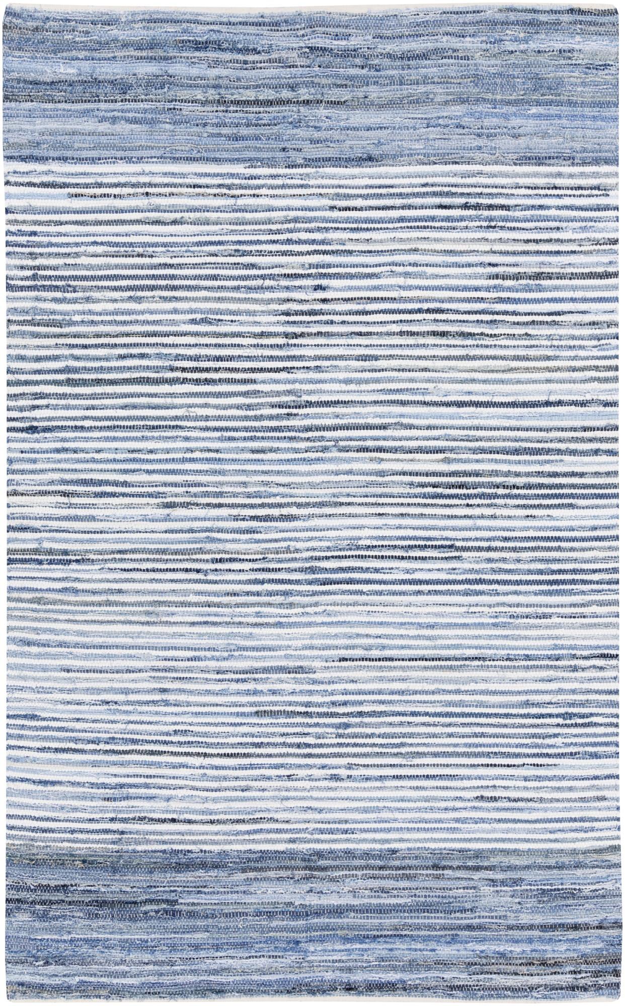 Surya Denim Dnm 1001 Rug Striped