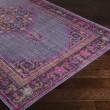 Product Image of Dark Purple, Fuchsia, Bright Red, Dark Purple Traditional / Oriental Area Rug