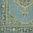 Product Image of Emerald, Olive, Lime, Aqua, Light Gray Traditional / Oriental Area Rug