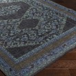 Product Image of Navy, Teal, Charcoal, Dark Brown, Dark Blue Traditional / Oriental Area Rug