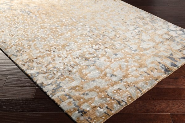 Khaki, Tan, Dark Blue, Navy, Sage Transitional Area Rug