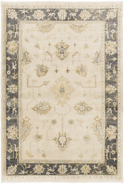 Olive, Forest Traditional / Oriental Area Rug