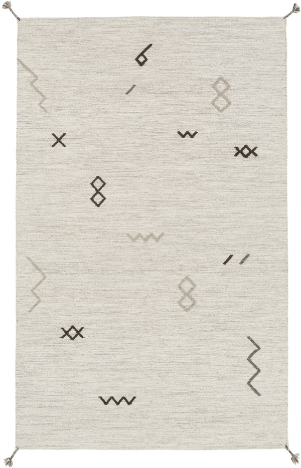 Light Gray, Taupe Southwestern / Lodge Area Rug