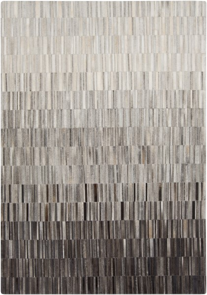 Light Gray, Gray, Taupe Abstract Area Rug
