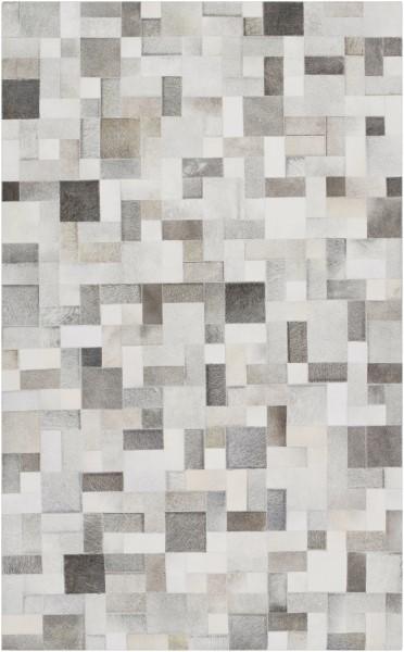 Light Gray Contemporary / Modern Area Rug