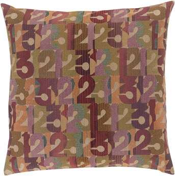 Mike Farrell - Decorative Pillows Numbers pillow