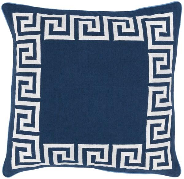 Navy, Ivory (KLD-002)  pillow