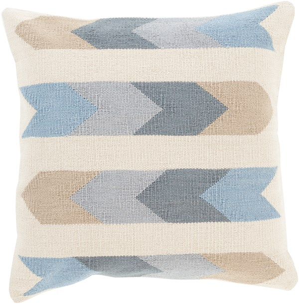 Beige, Charcoal, Light Gray, Slate (CK-011) Southwestern / Lodge pillow