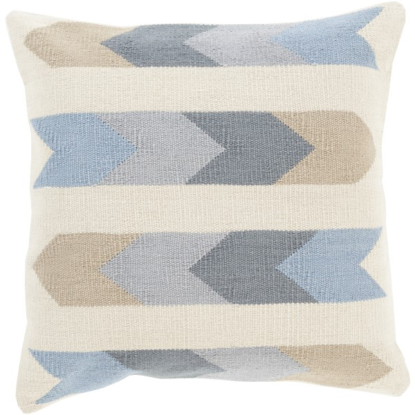 Beige, Charcoal, Light Gray, Slate (CK-011) Southwestern pillow