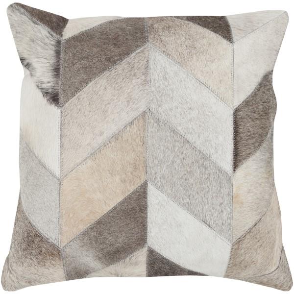 Beige, Light Gray, Ivory (TR-003) Chevron pillow