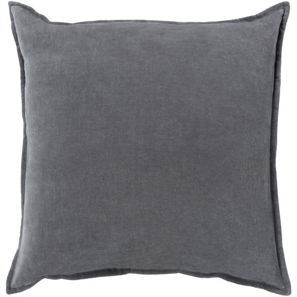 Charcoal (CV-003) Solid pillow